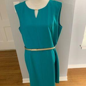 TEAL ELLEN TRACY DRESS